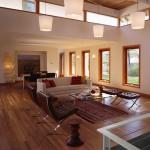 Glade House interior living area