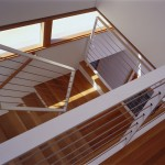 Glade house interior stairwell