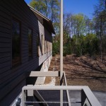 Glade house side view