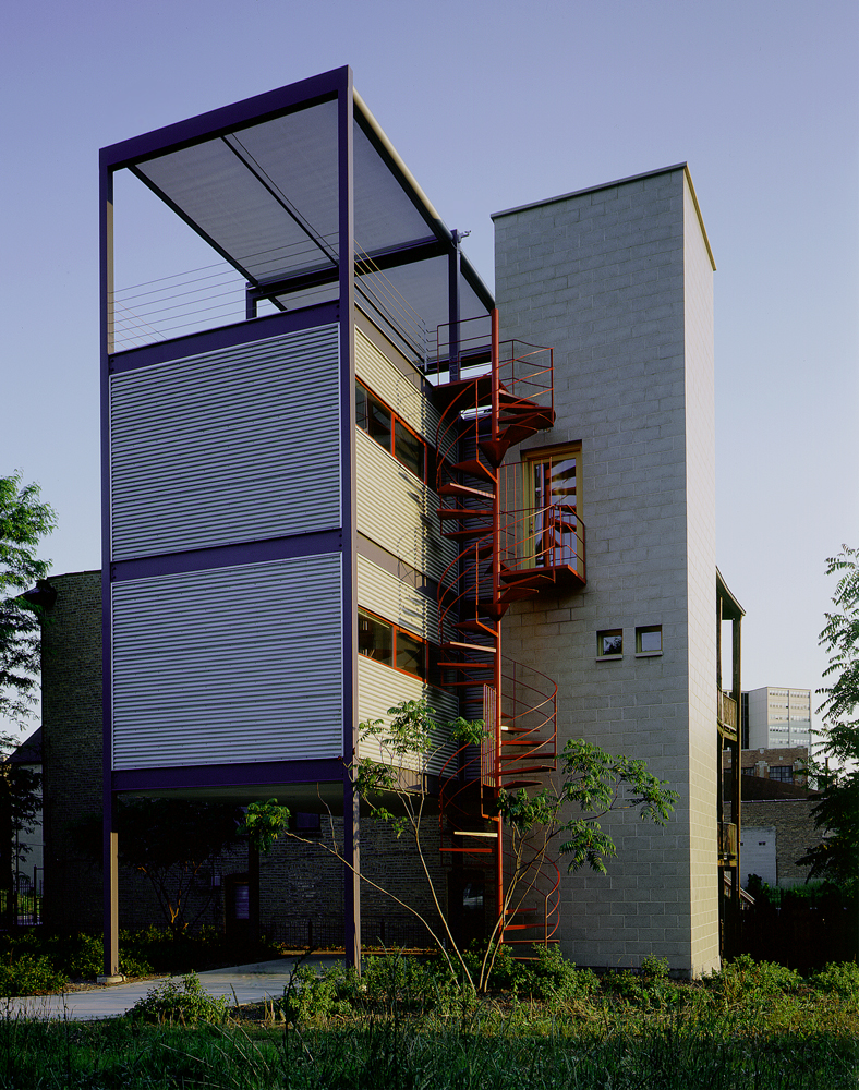Frederick phillips associates tower house for Homes with towers
