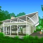 Zero Energy House model