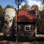 Washington Island house silo