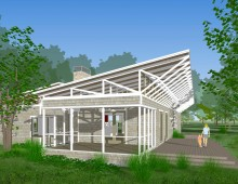 Deerpath Farm Solar house